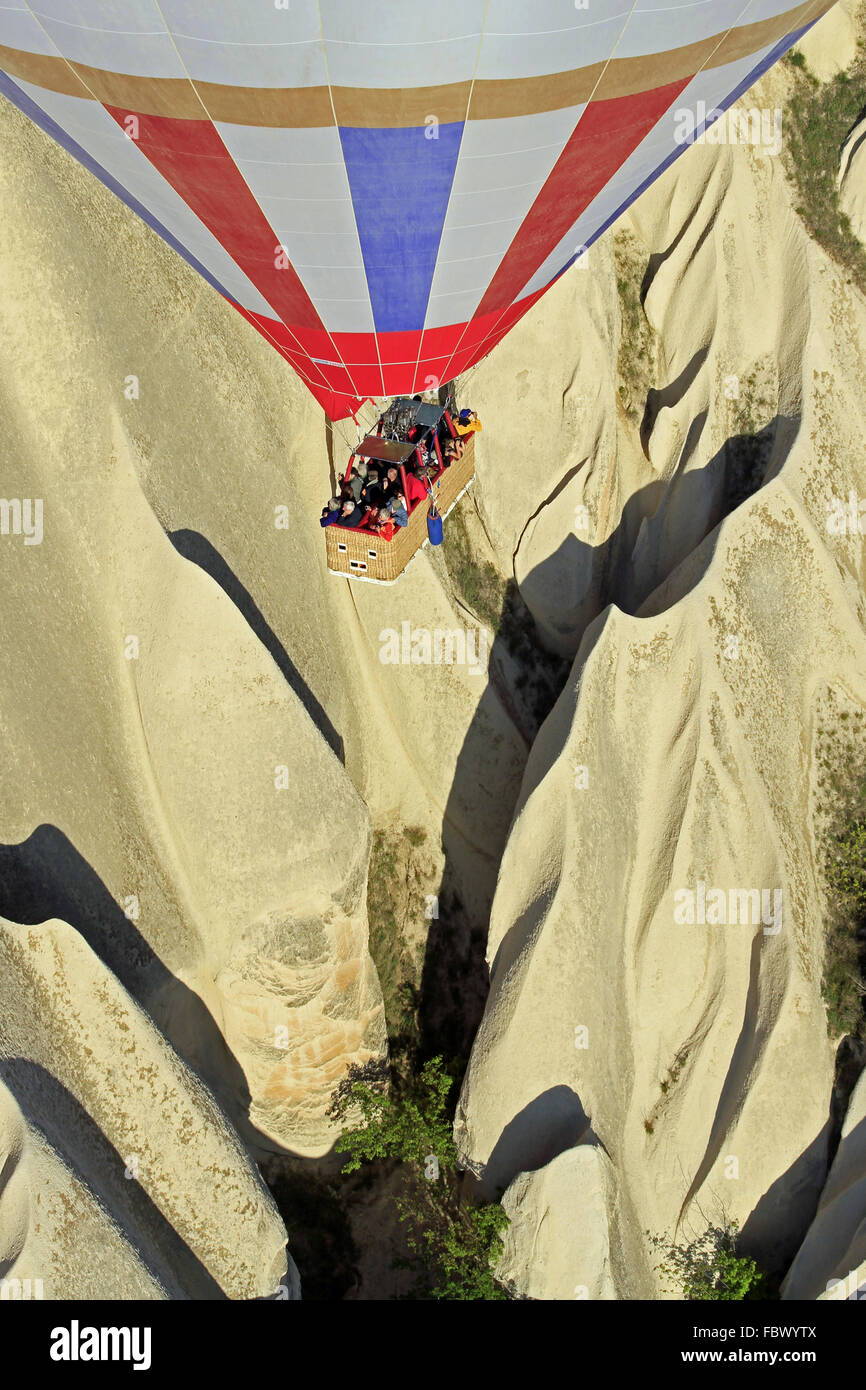 balloon trip cappadocia 015 - Stock Image