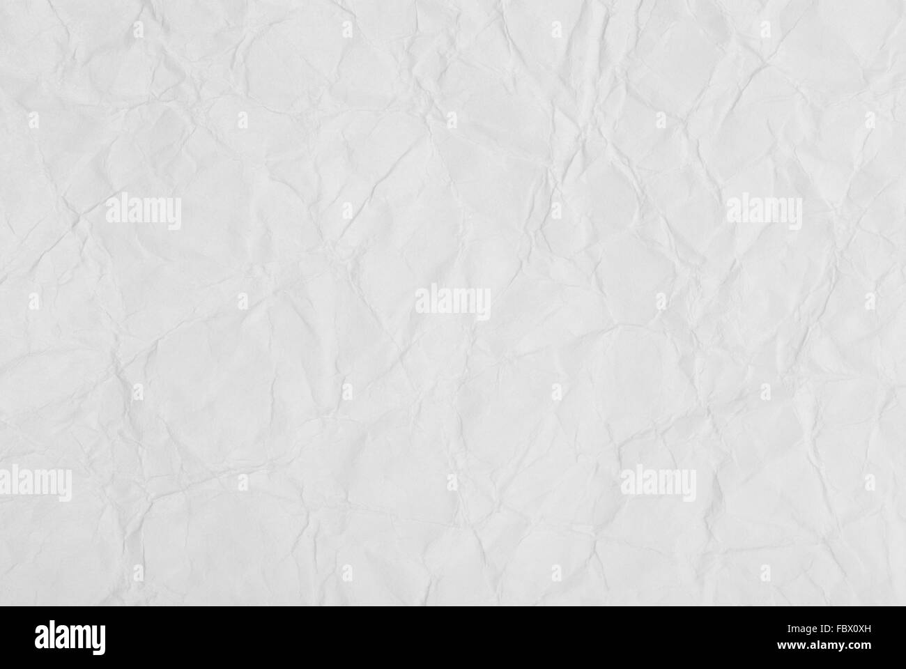 background of crumpled paper texture - Stock Image