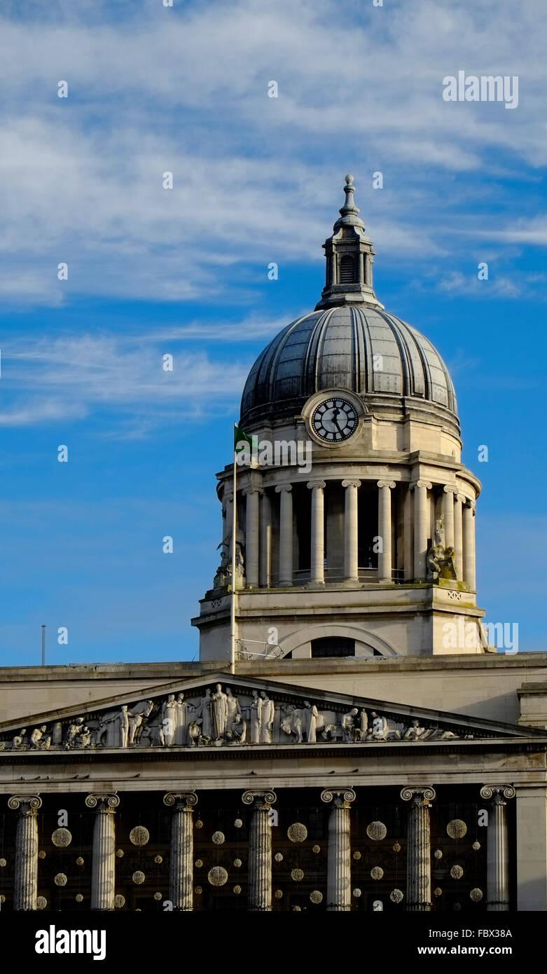 Nottingham City Council House Building England UK United Kingdom Europe - Stock Image