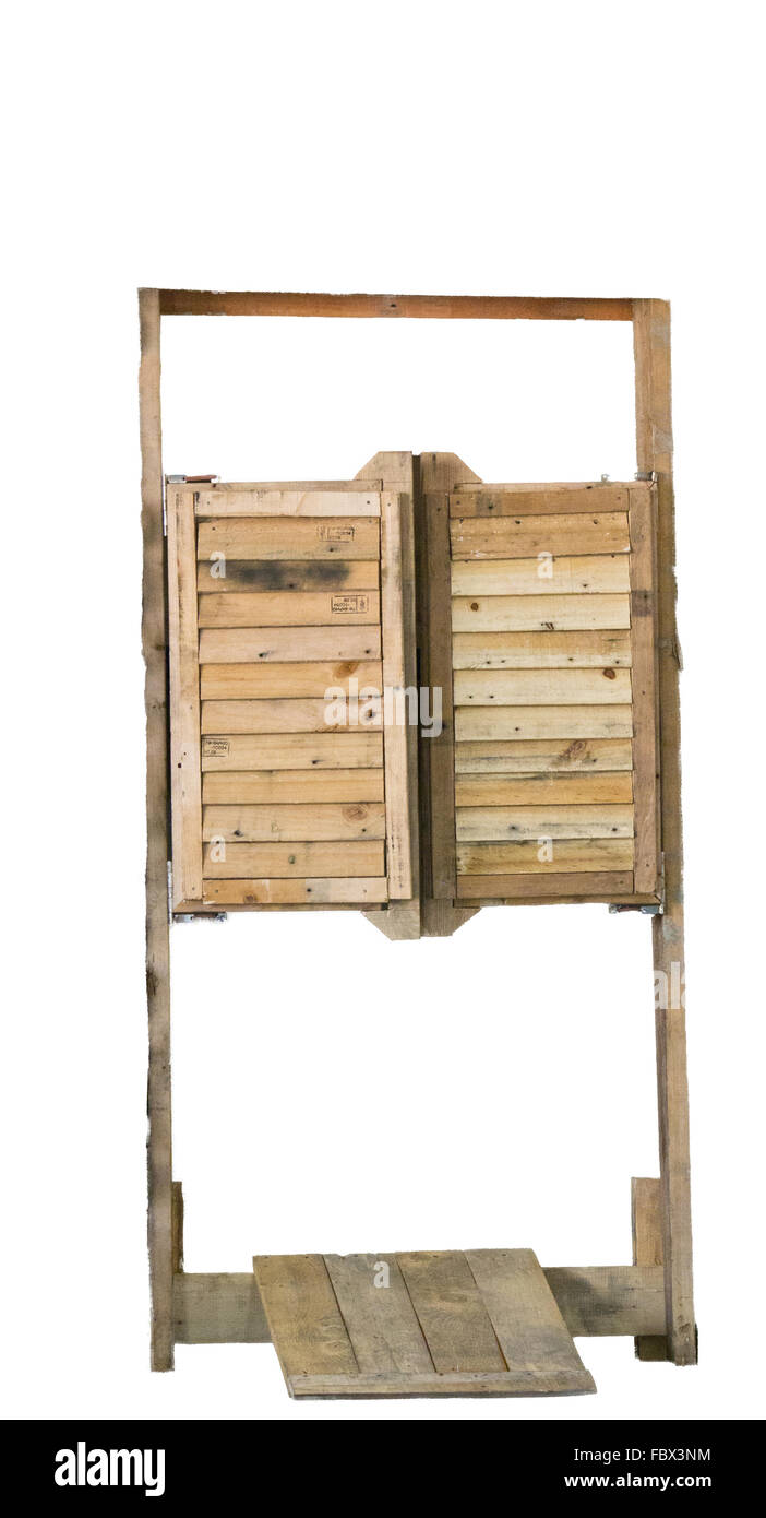 Old western door - Stock Image  sc 1 st  Alamy & Saloon Door Western Stock Photos \u0026 Saloon Door Western Stock Images ...