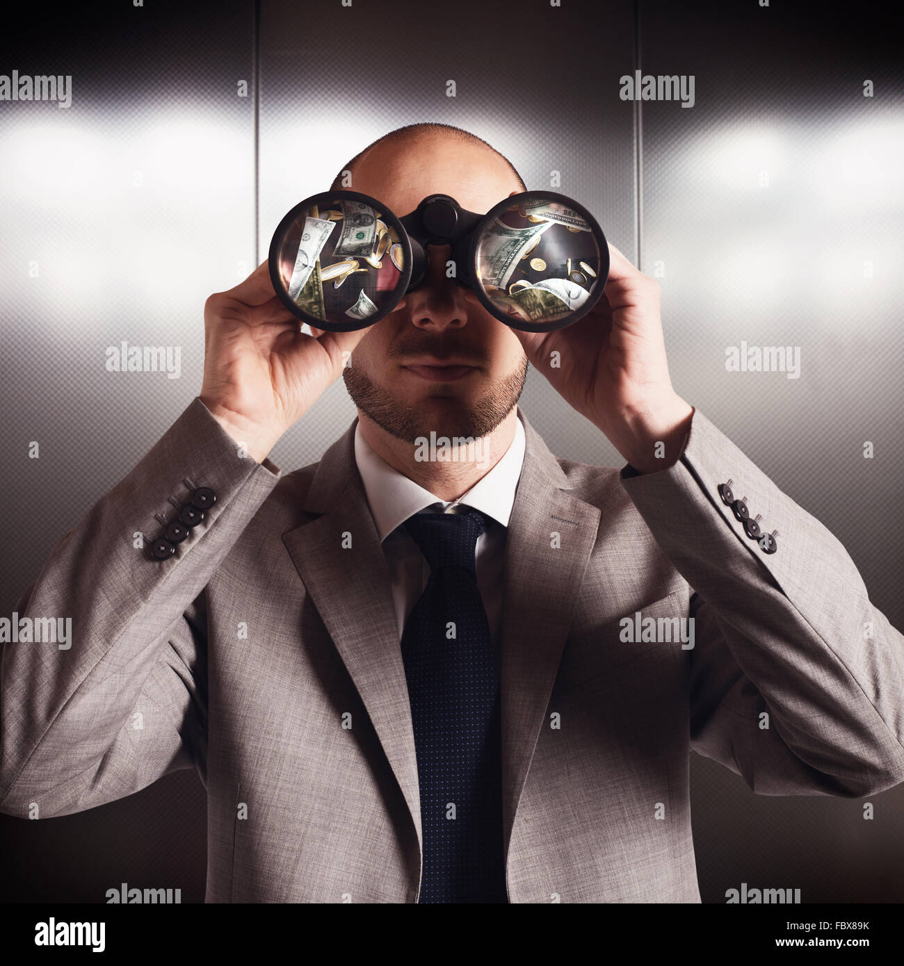 Search money - Stock Image