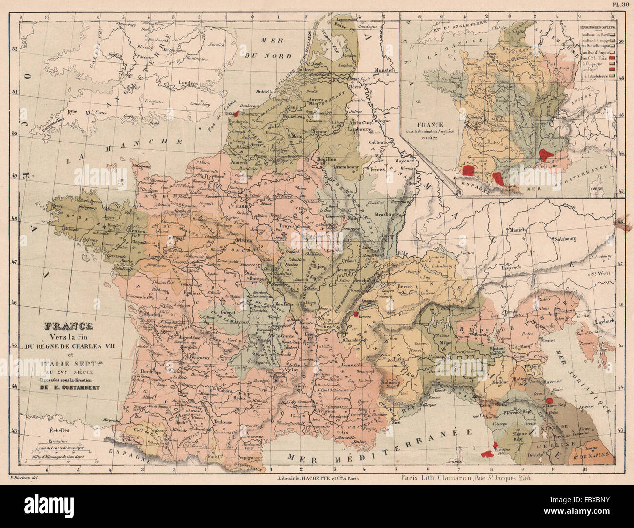 English Map Of France.English France Map Stock Photos English France Map Stock Images