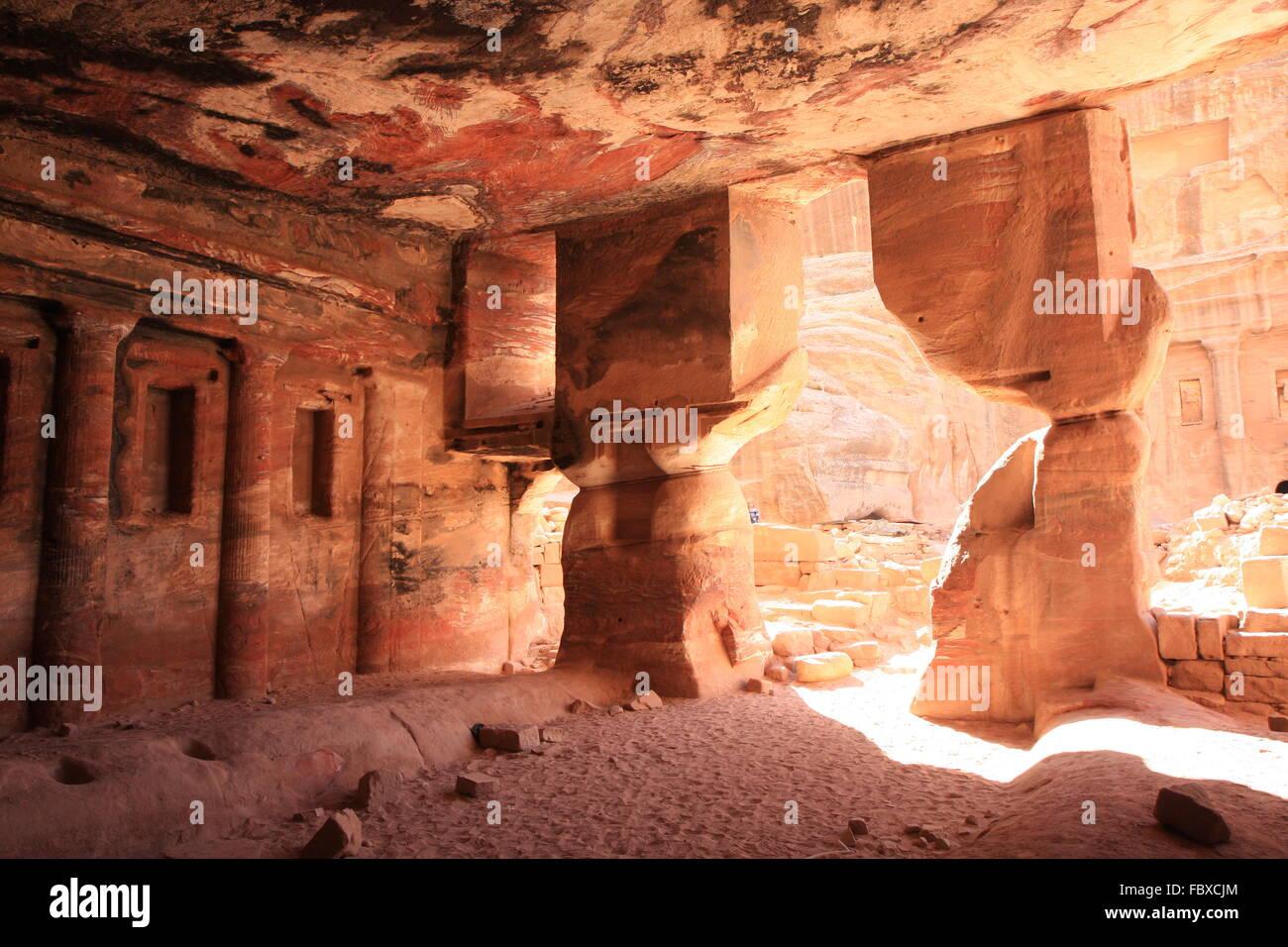 petra jordan Stock Photo