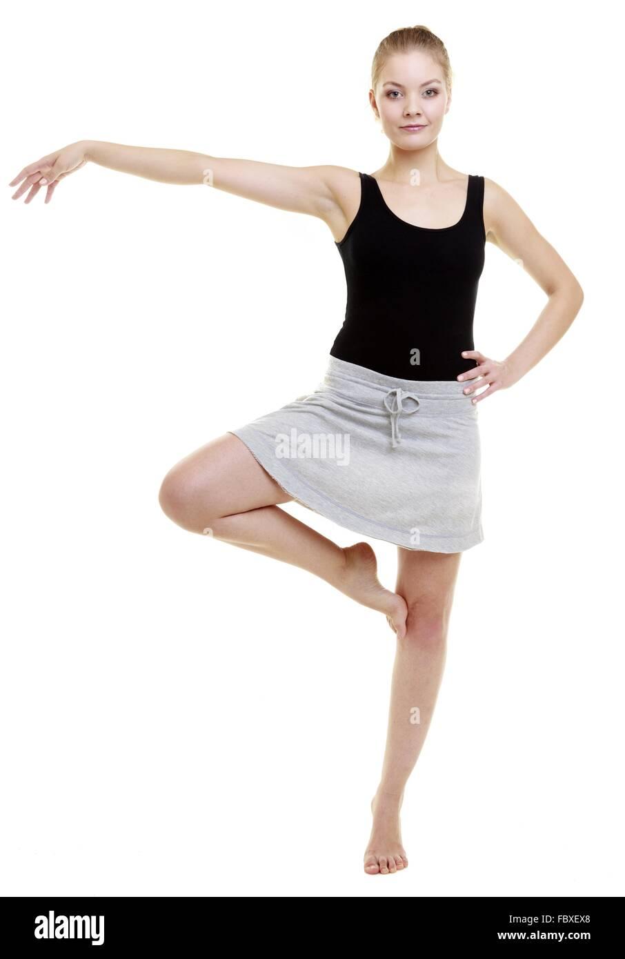 Zumba Dance Fitness Stretching Stock Photos & Zumba Dance Fitness