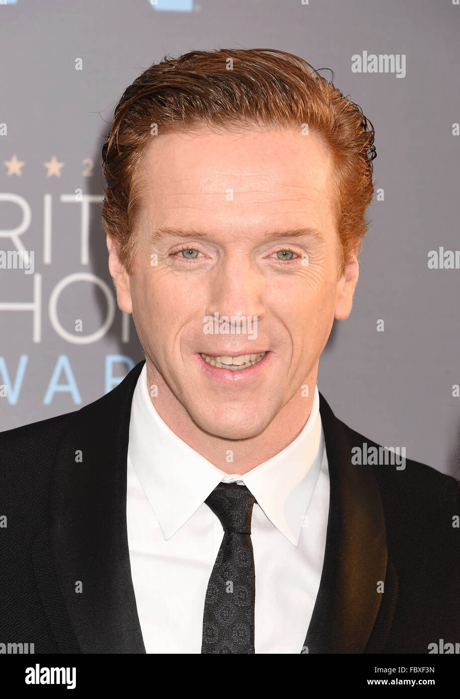 DAMIAN LEWIS English film actor and producer in January 2016. Photo Jeffrey Mayer Stock Photo