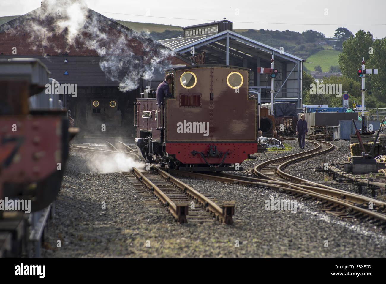 Railwaystation Aberystwyth - Stock Image