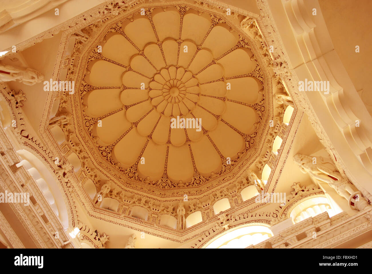 dome home interior design thirumalai nayak palace dome interior design stock photo 17398