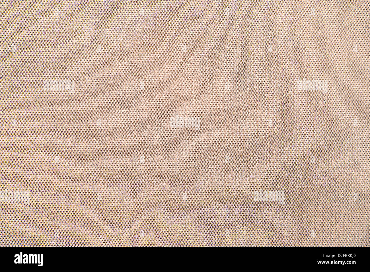 perforated fabric background - Stock Image