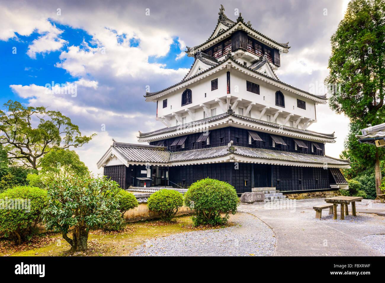 Iwakuni Castle in Yamaguchi, Japan. - Stock Image