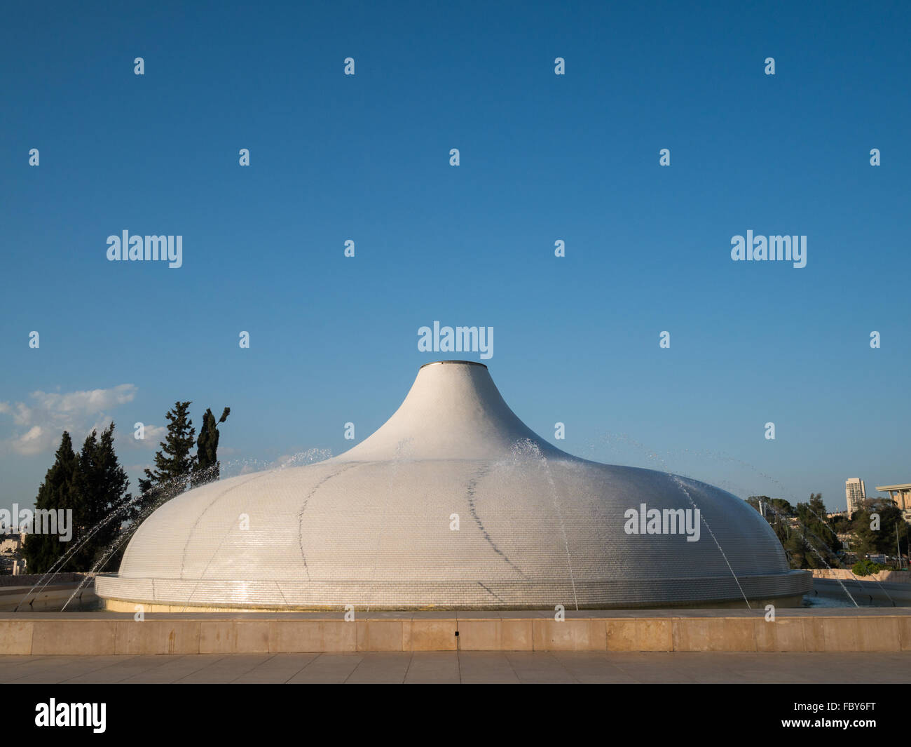 The Shrine of the Book wing of Israel Museum Stock Photo