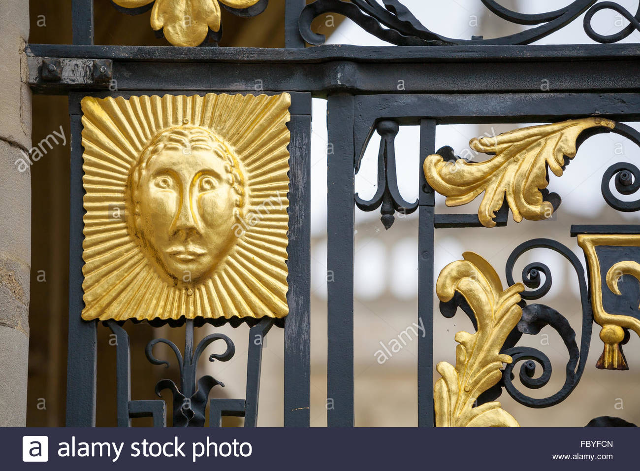 Gold And Black Gate Stock Photos & Gold And Black Gate Stock Images ...