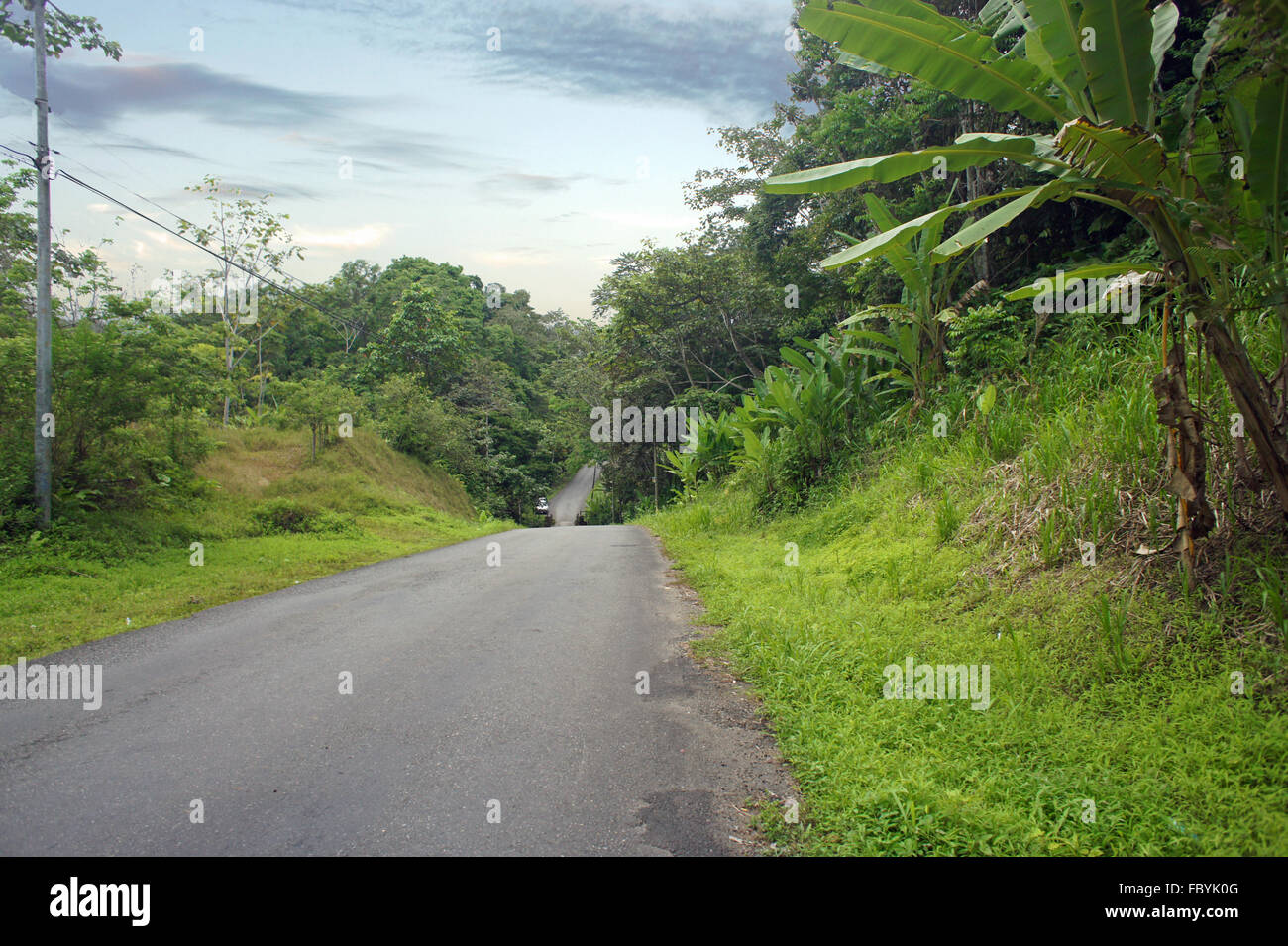 road to nowhere - Stock Image