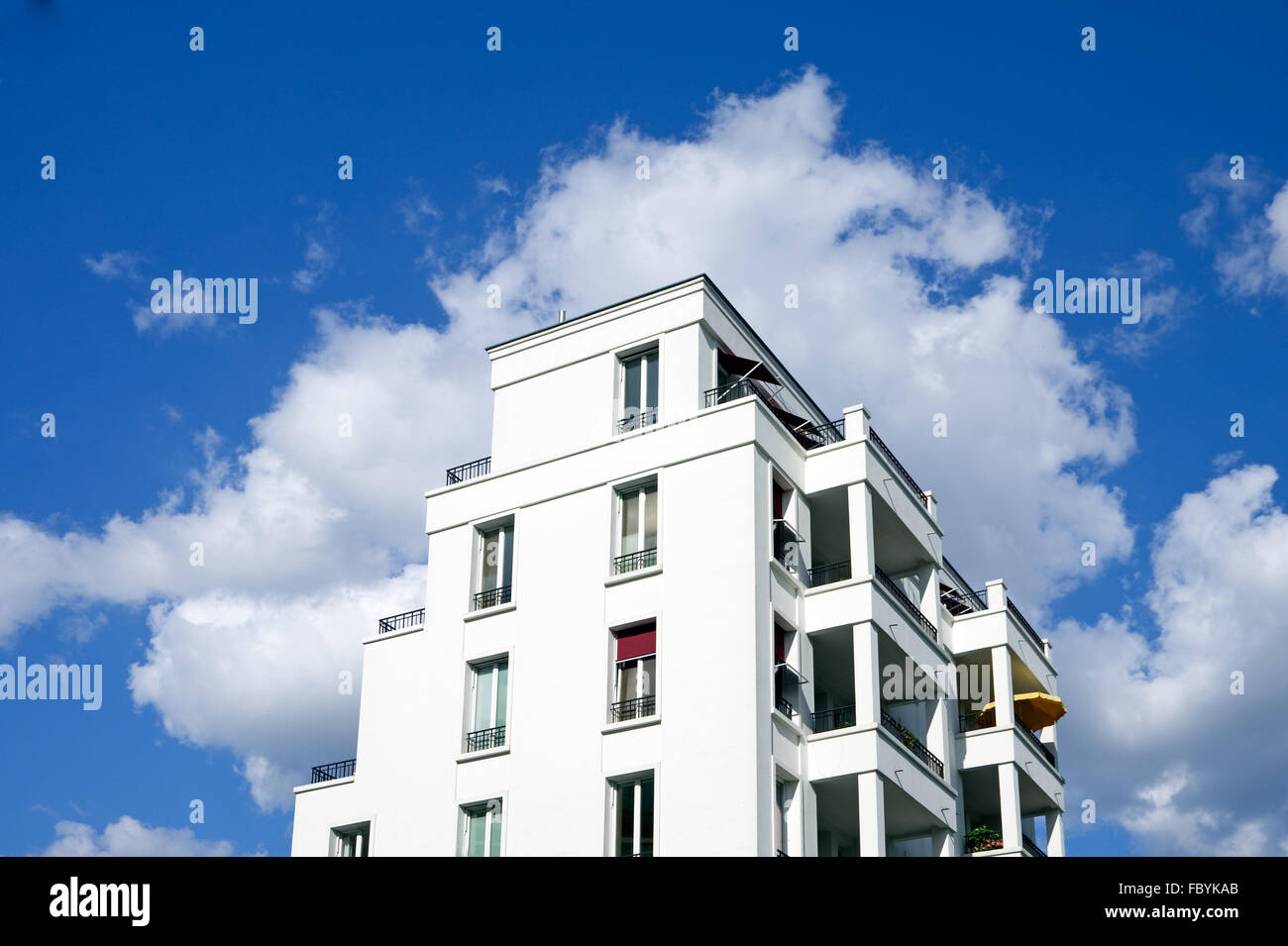 townhouse in Berlin - Stock Image