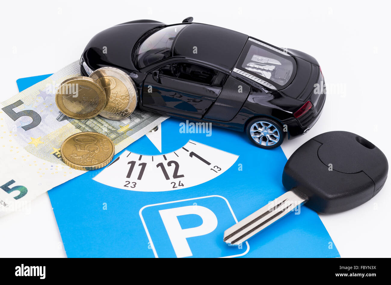 Parking Charge - Stock Image
