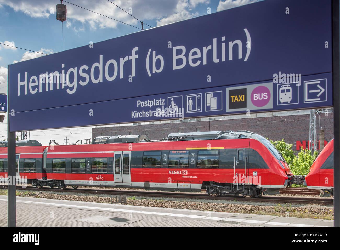 Probefahrt eines Talent2 for Bavaria - Stock Image