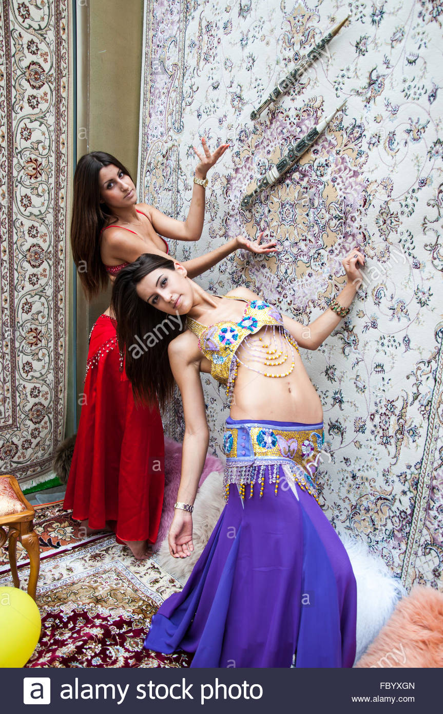 girl on background of carpet arab style stock photo: 93426613 - alamy