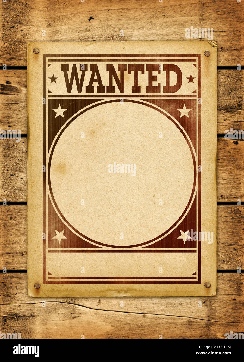 Wanted poster template stock photos wanted poster template stock wanted poster on a wood board stock image maxwellsz