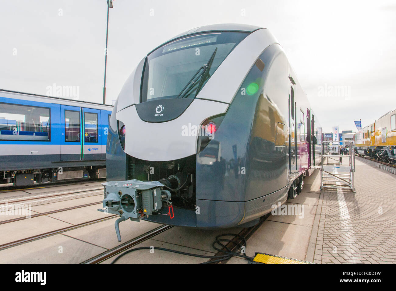 Coradia Continental-Train for the ENNO-Network - Stock Image