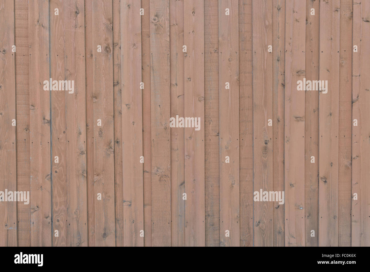 Parallel Wood Fence Background, Red Brown Color