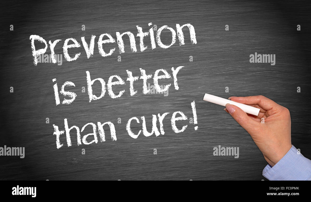 Prevention Is Better Than Cure Stock Photo 93445539 Alamy