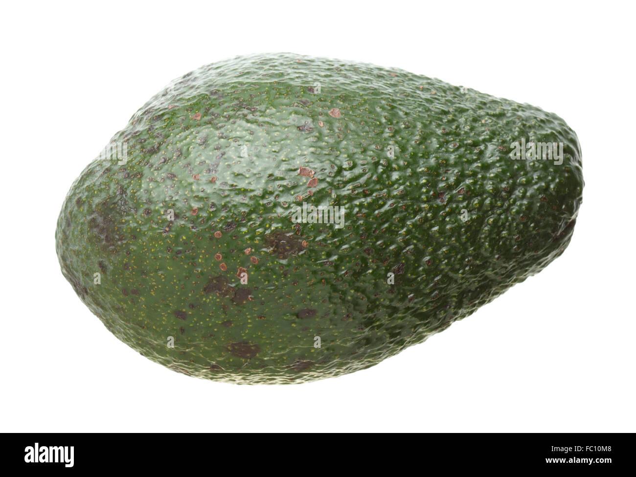 Avocado isolated on white - Stock Image