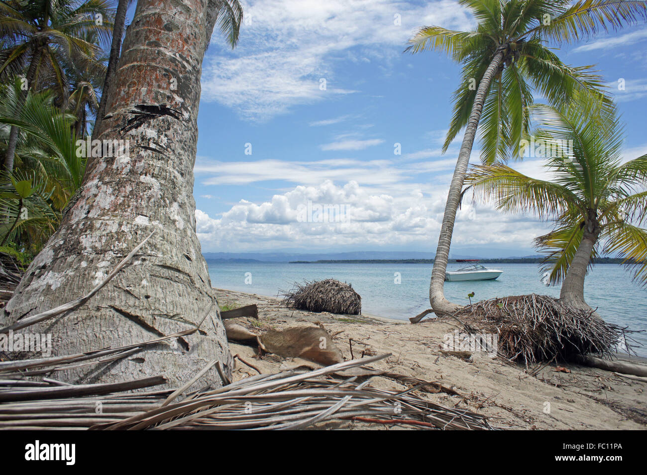 caribbean vacation - Stock Image