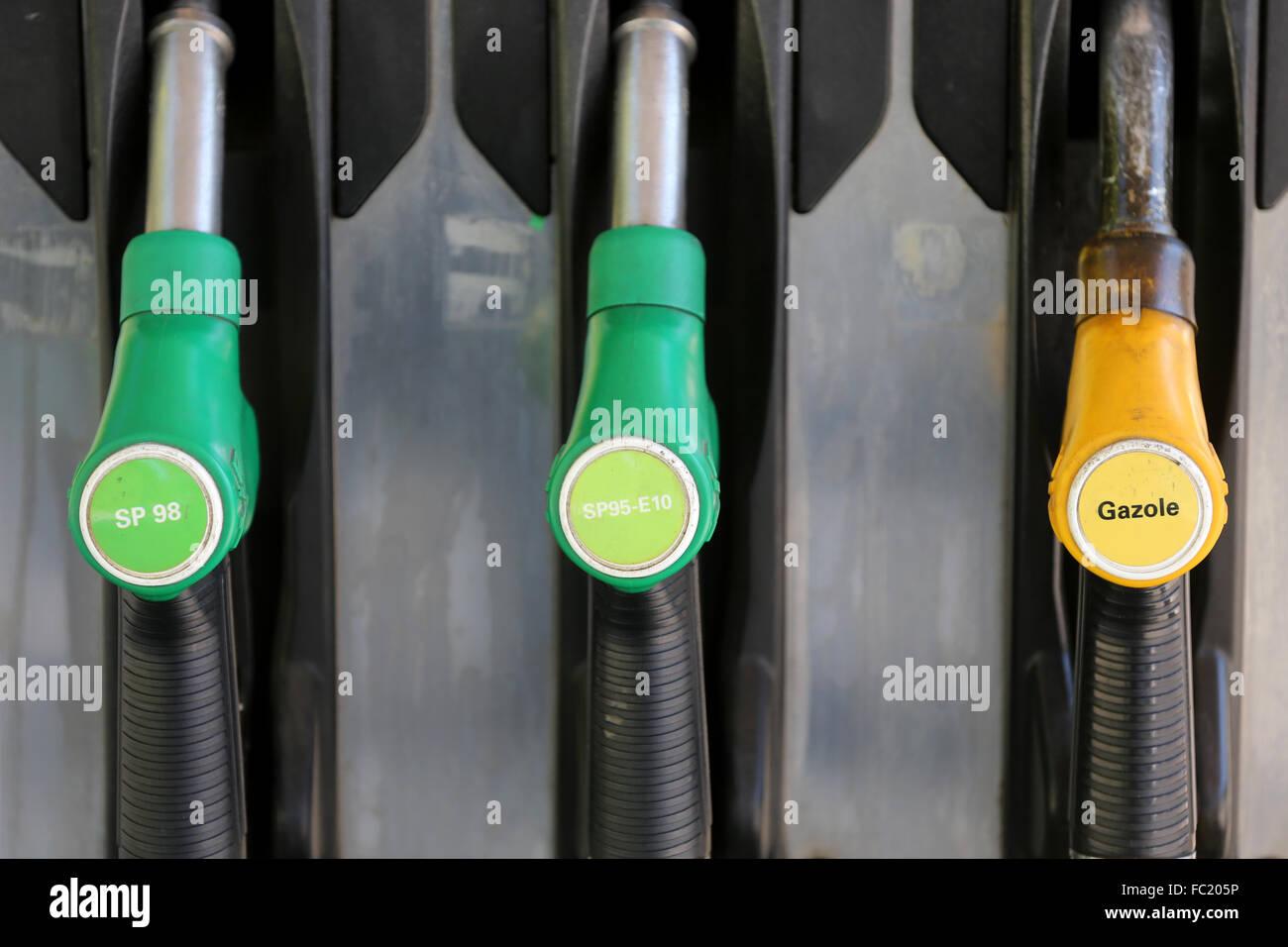 Gasoline station. Stock Photo