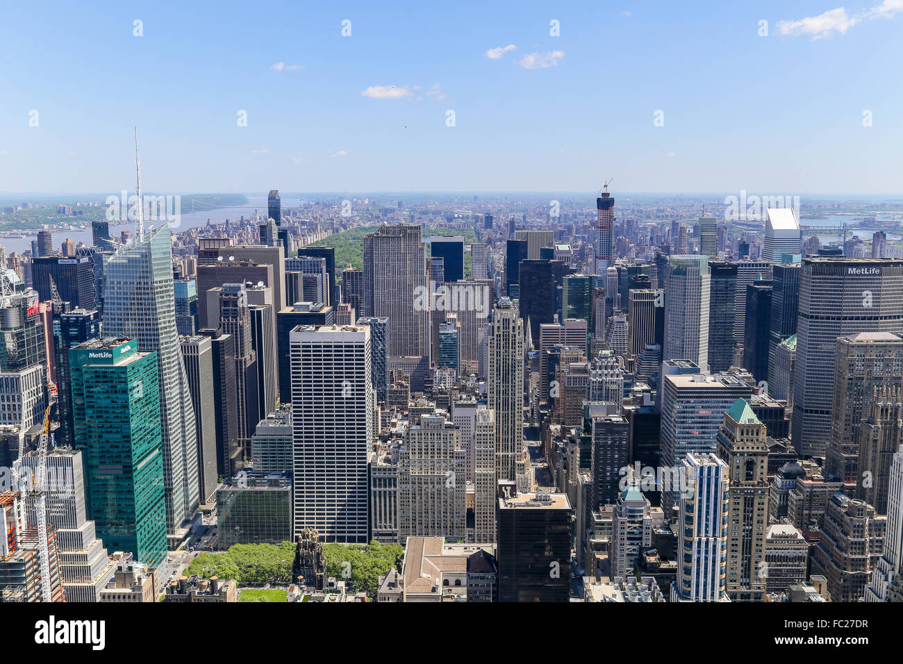 New York View - Stock Image