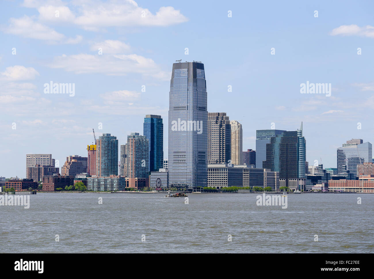 New Jersey Waterfront - Stock Image