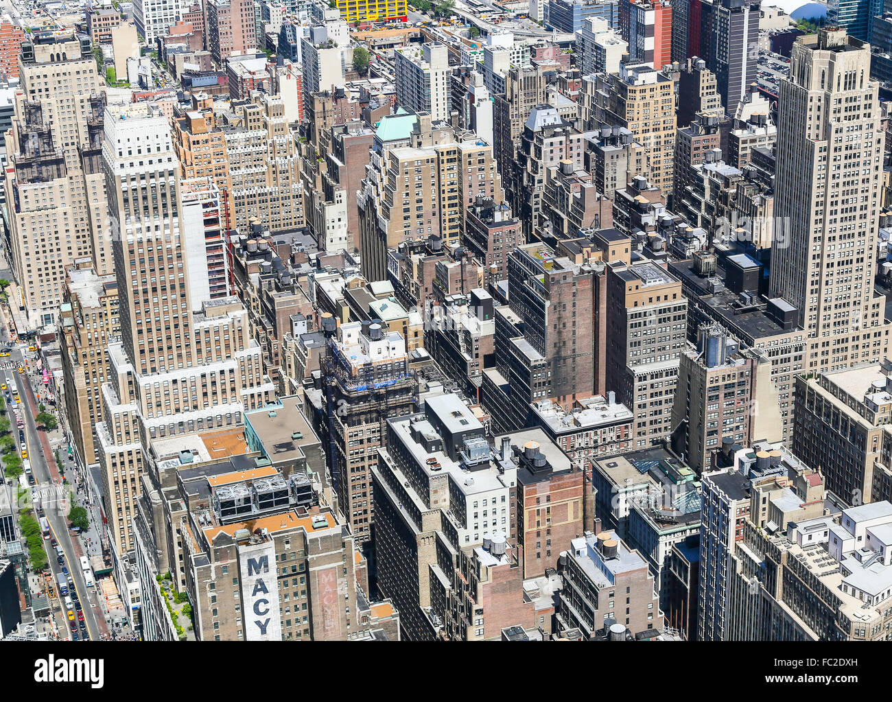 NYC from above - Stock Image
