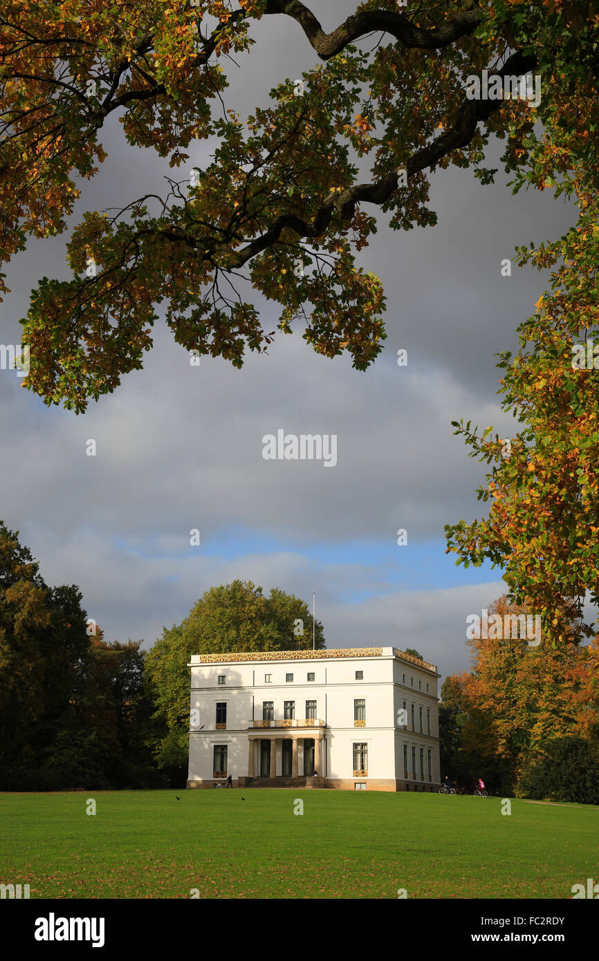 Jenisch Haus House In Jenischpark Hamburg Germany Europe Stock