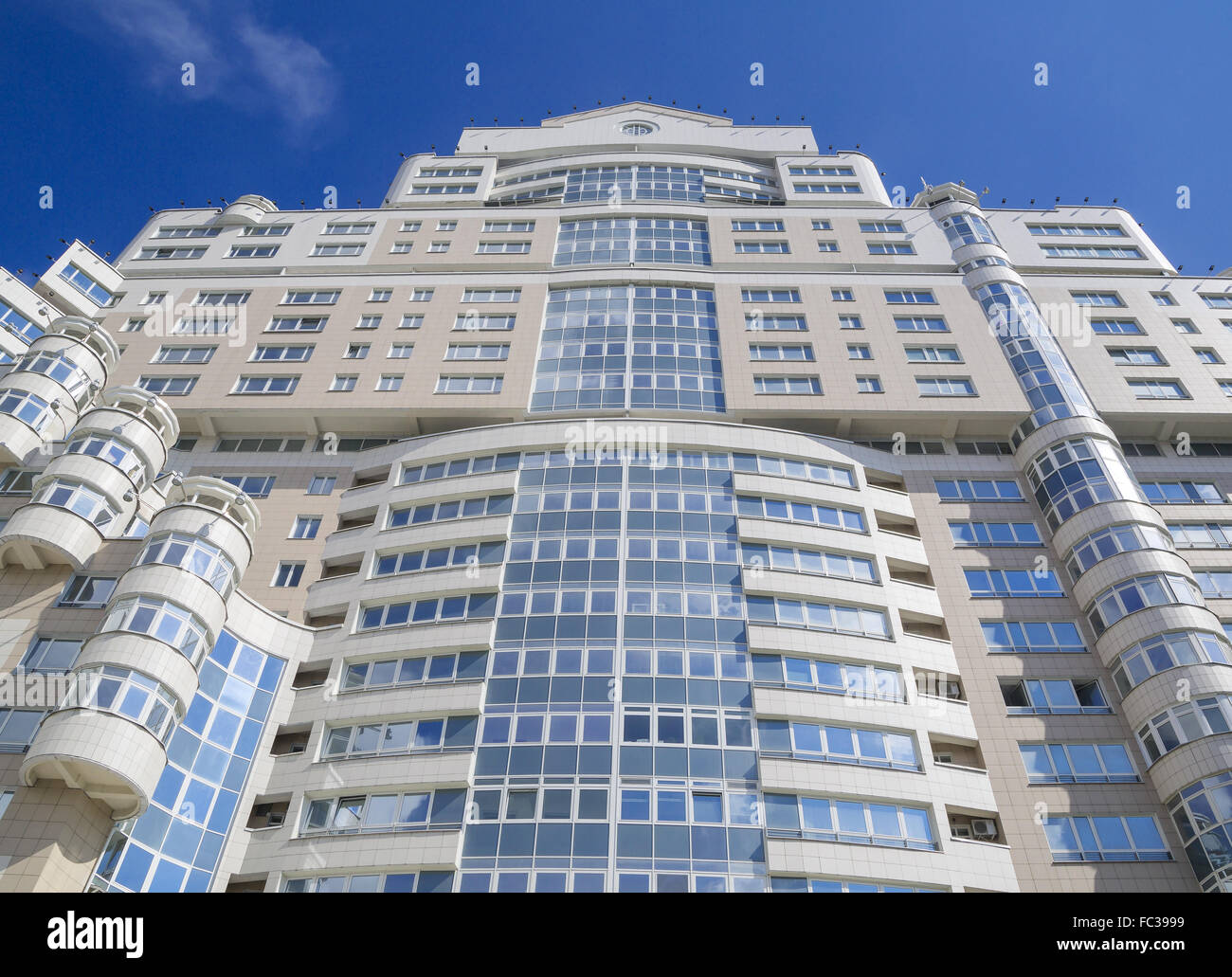 Detail of modern architecture - Stock Image