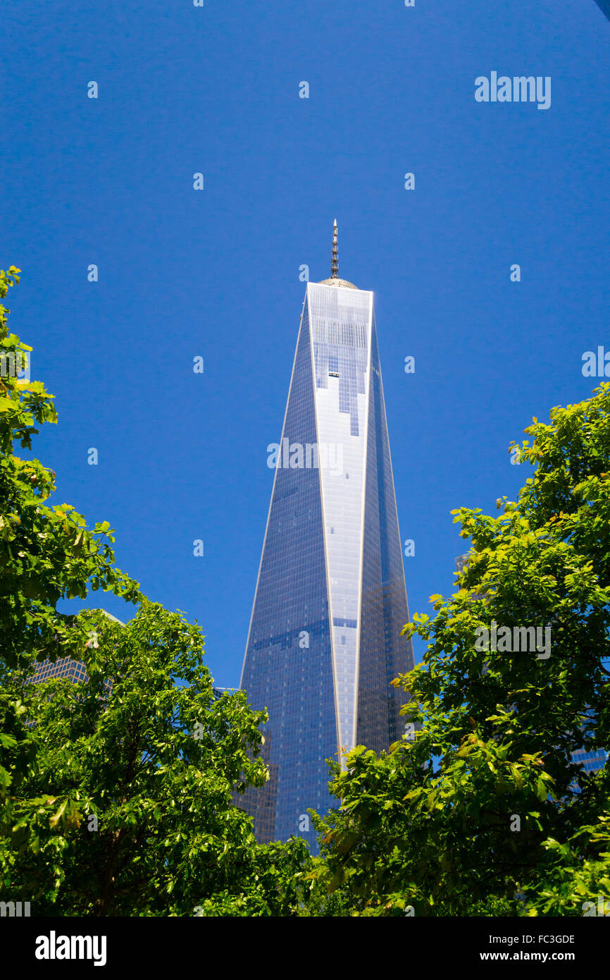 One World Trade Center buidling - Stock Image