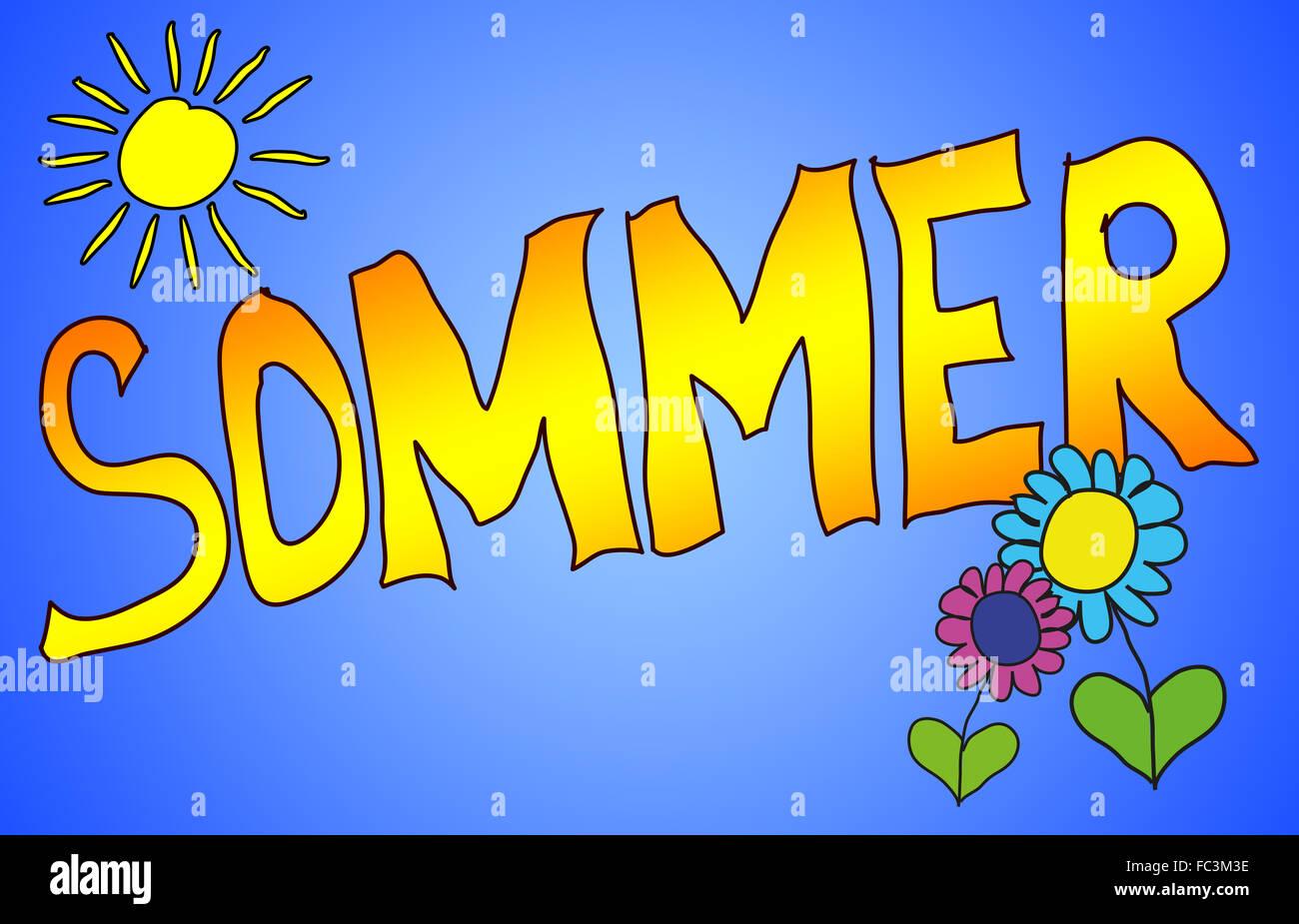 Summer - Stock Image