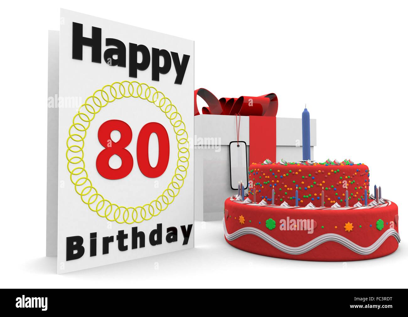 Eightieth Cut Out Stock Images Pictures Alamy