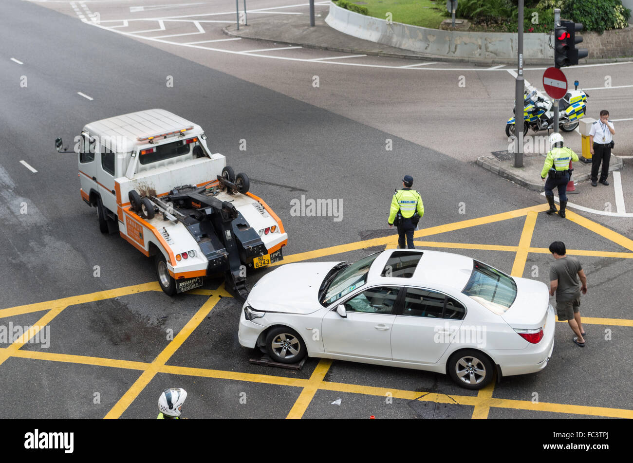 road accidents - Stock Image