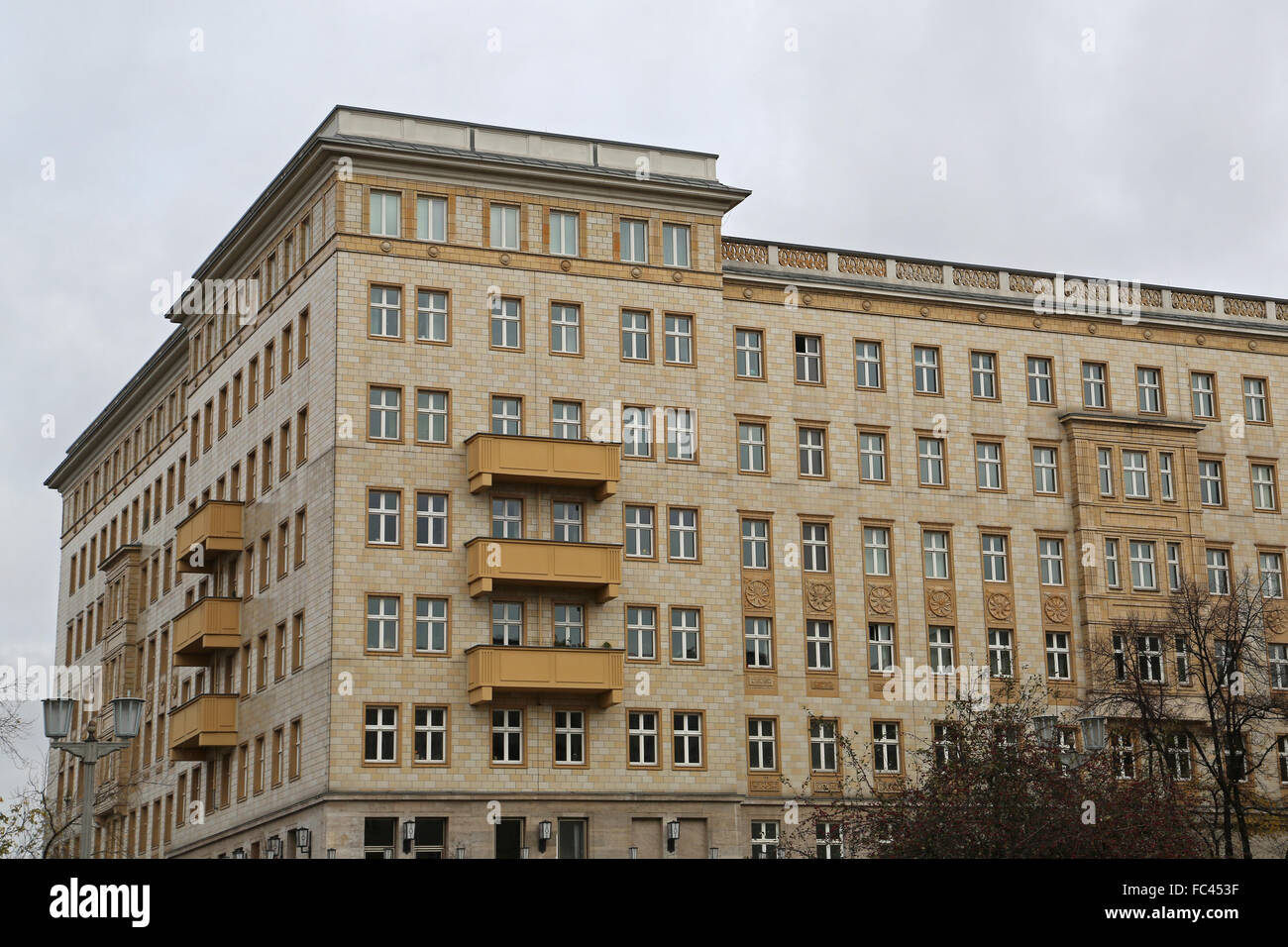 Old Typical Apartments In East Berlin, Germany