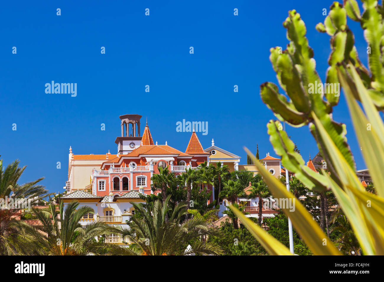 Architecture at Tenerife island - Canaries - Stock Image