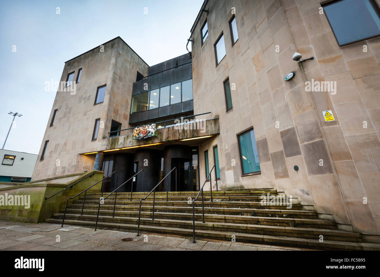 Bolton Crown Court, Bolton, Lancashire, UK - Stock Image