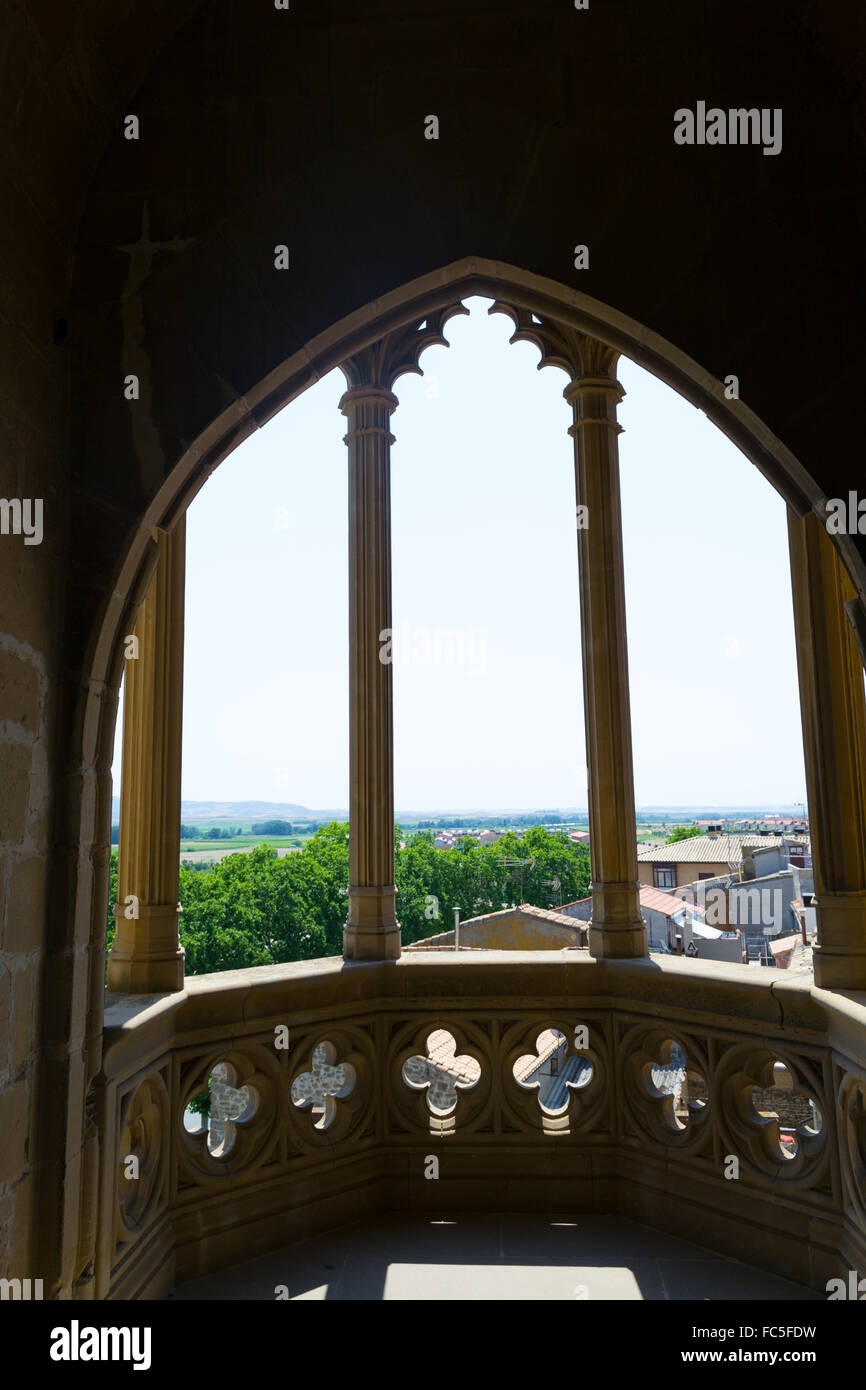 Balcony to the horizont - Stock Image