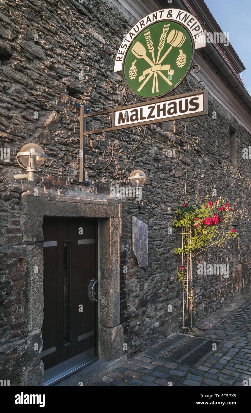 Malzhaus - Historical cultural centre in Pl - Stock Image