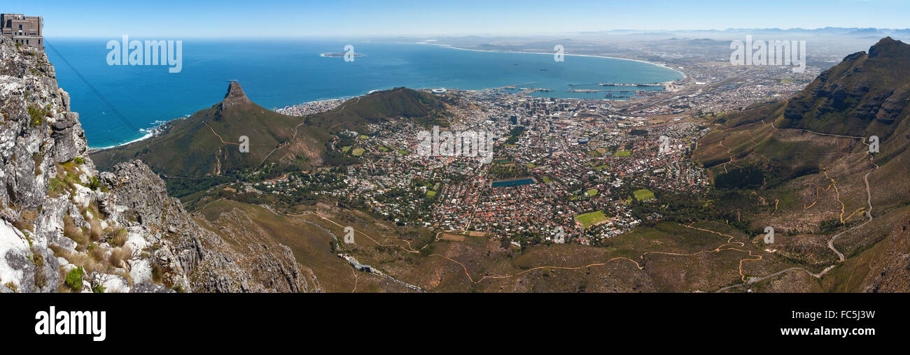 Cape-Town-Pano - Stock Image