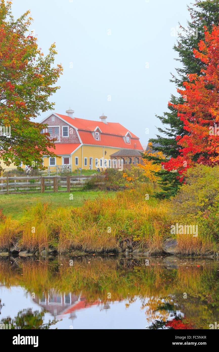 Salsbury Cove, Mount Desert Island, Maine, USA - Stock Image