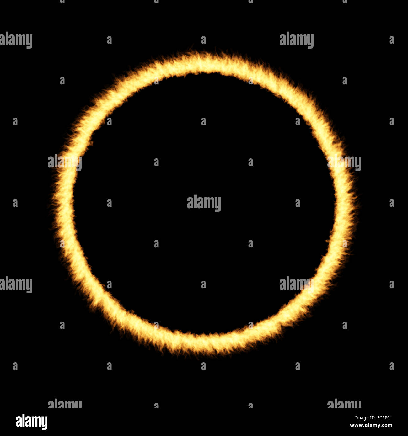 Ring of Fire - Stock Image