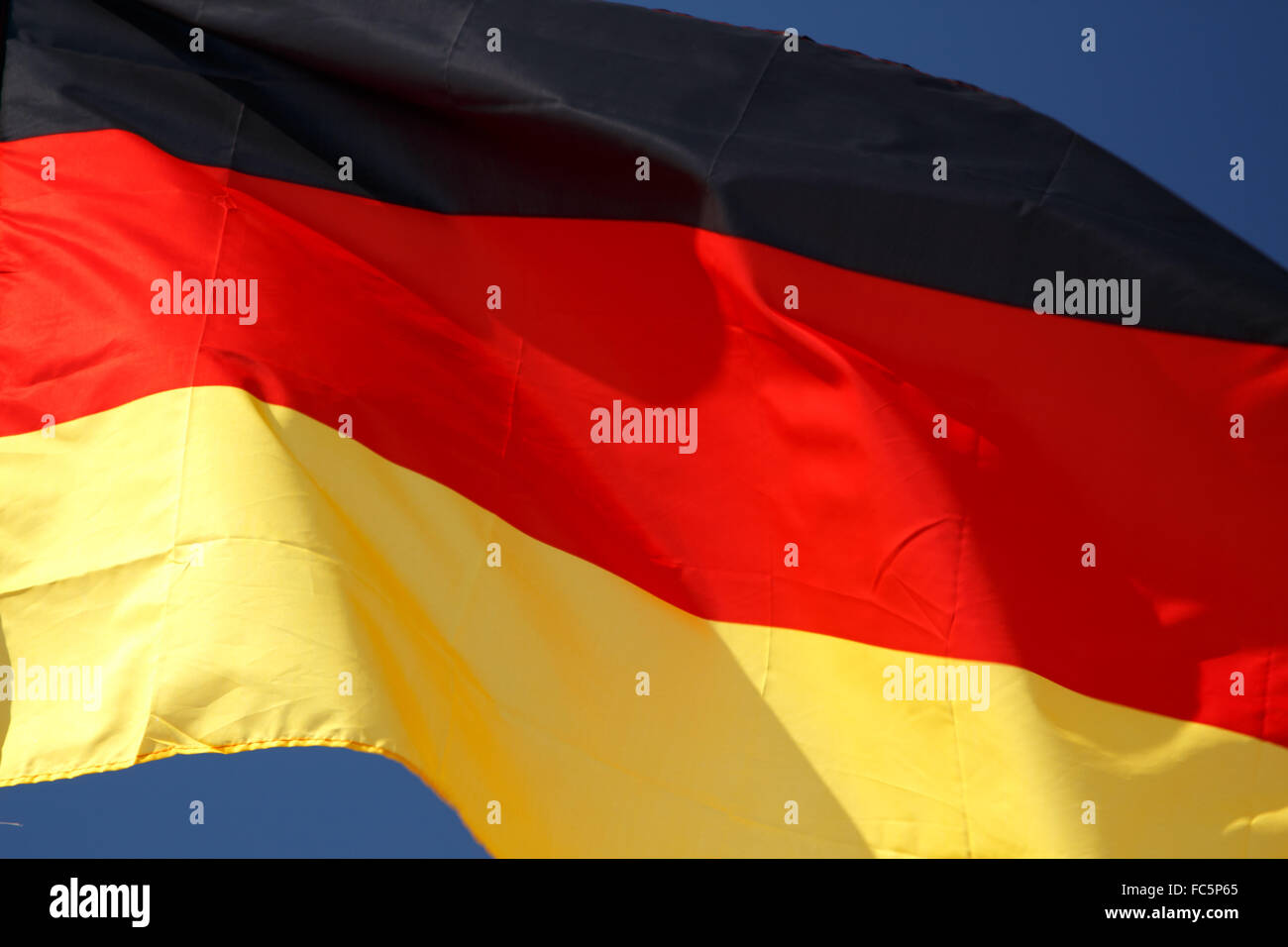 Flag of Germany - Stock Image