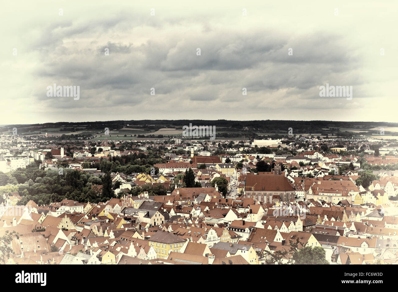 Aerial View - Stock Image