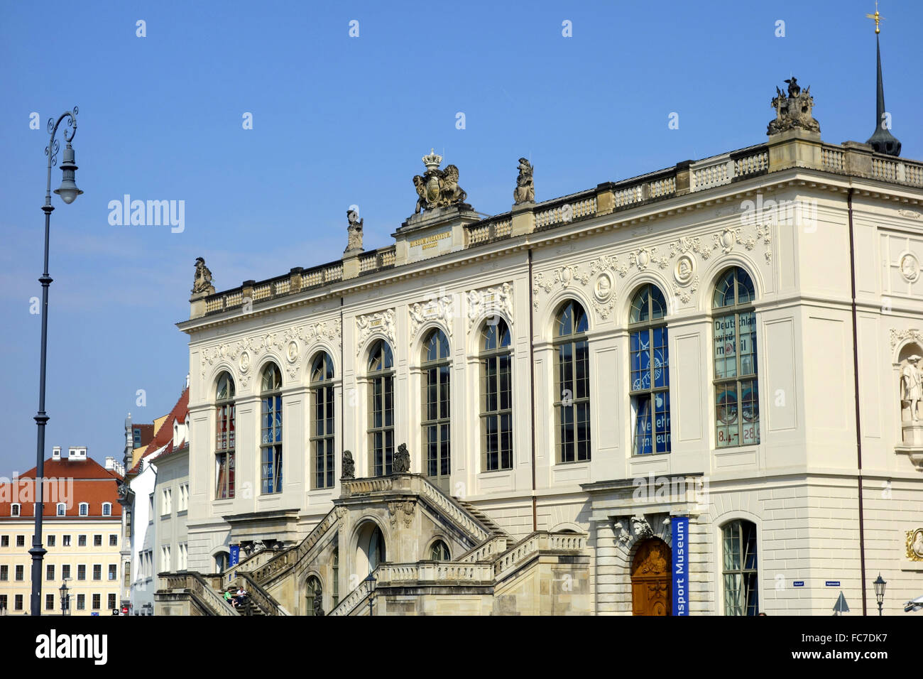 johanneum dresden, germany Stock Photo