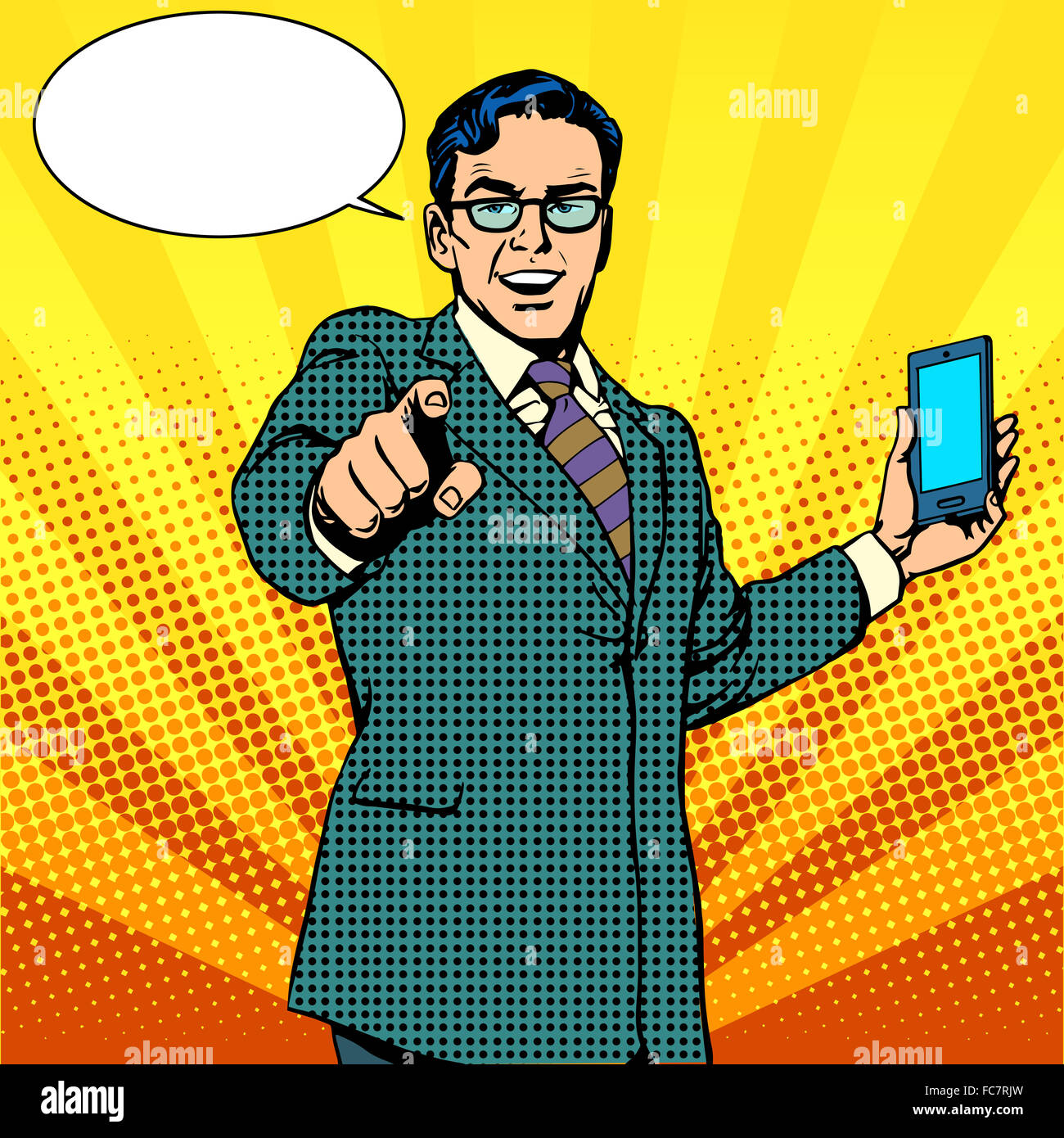 buy a new gadget and phone business concept - Stock Image