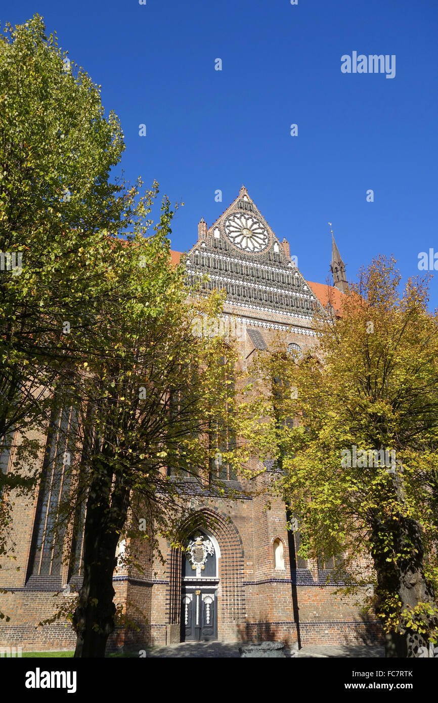 St. Nikolai Church in Wismar ,germany - Stock Image