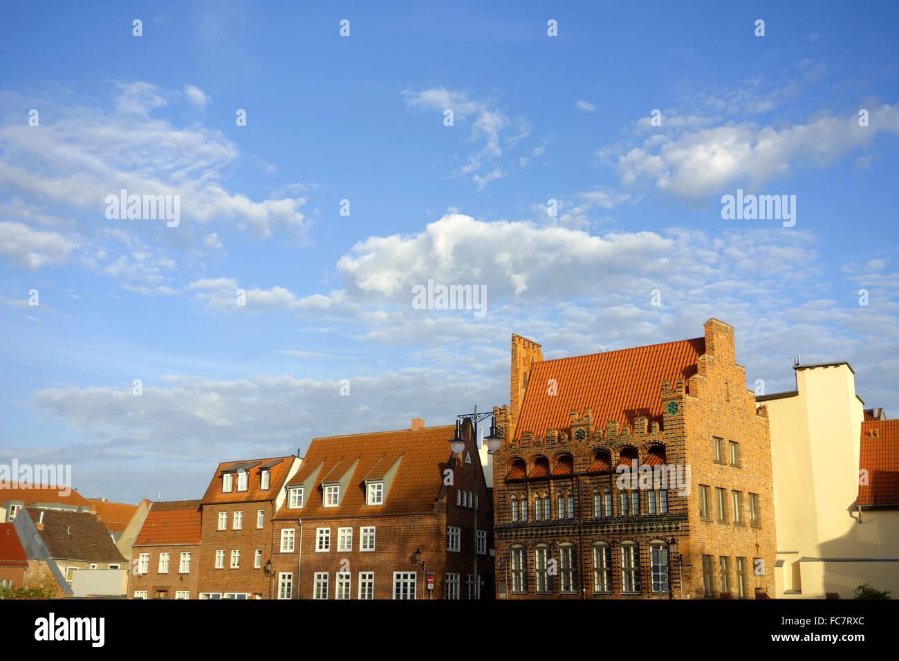 wismar, germany - Stock Image